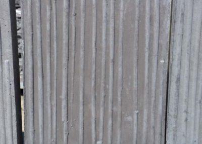 L Duo beton met structuur (Bambou) Afwerking op aanvraag